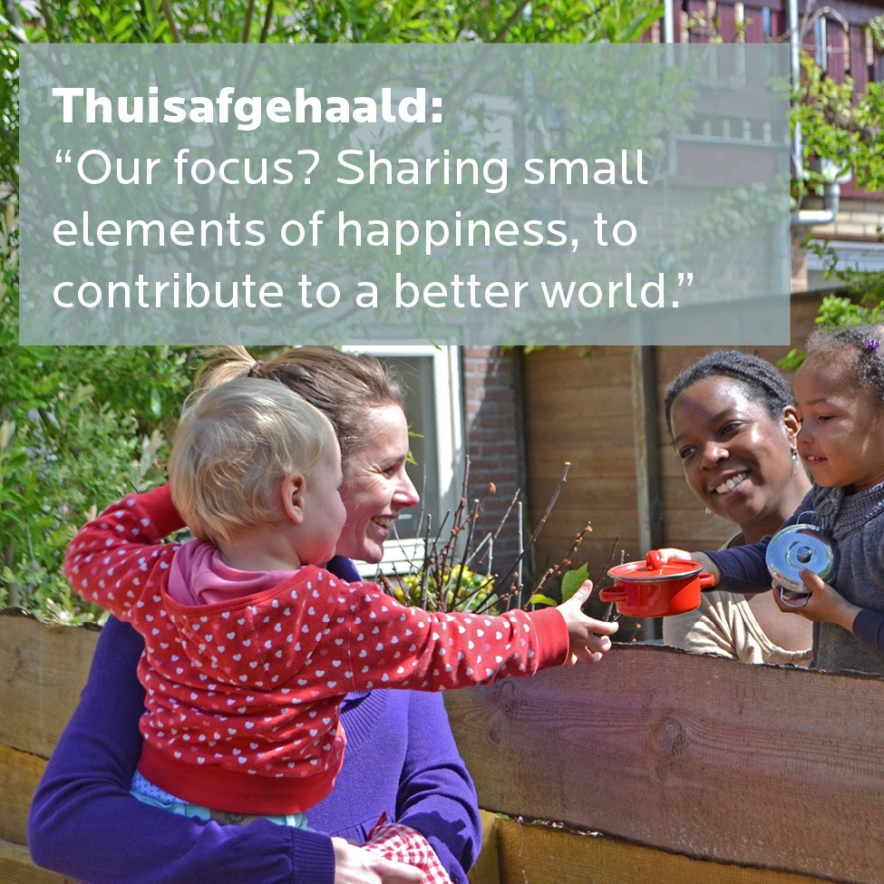Positive impact creator Thuisafgehaald
