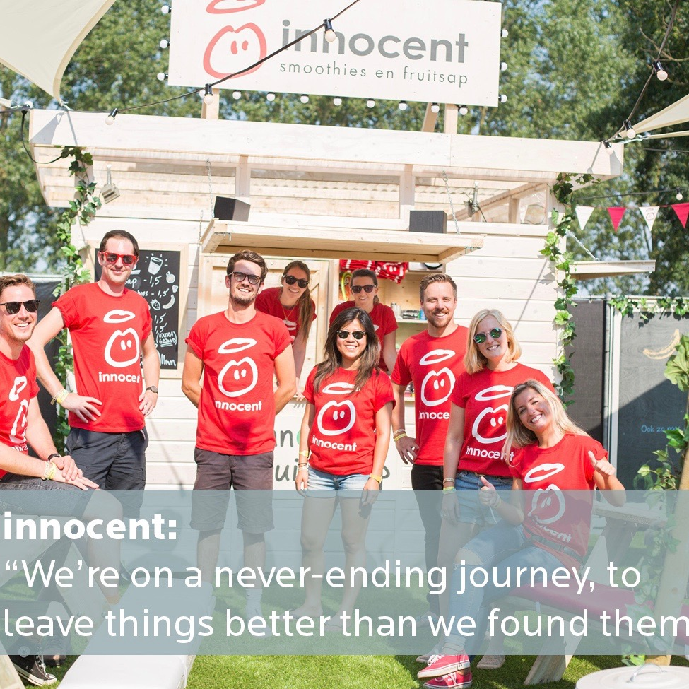 Positive impact creator innocent