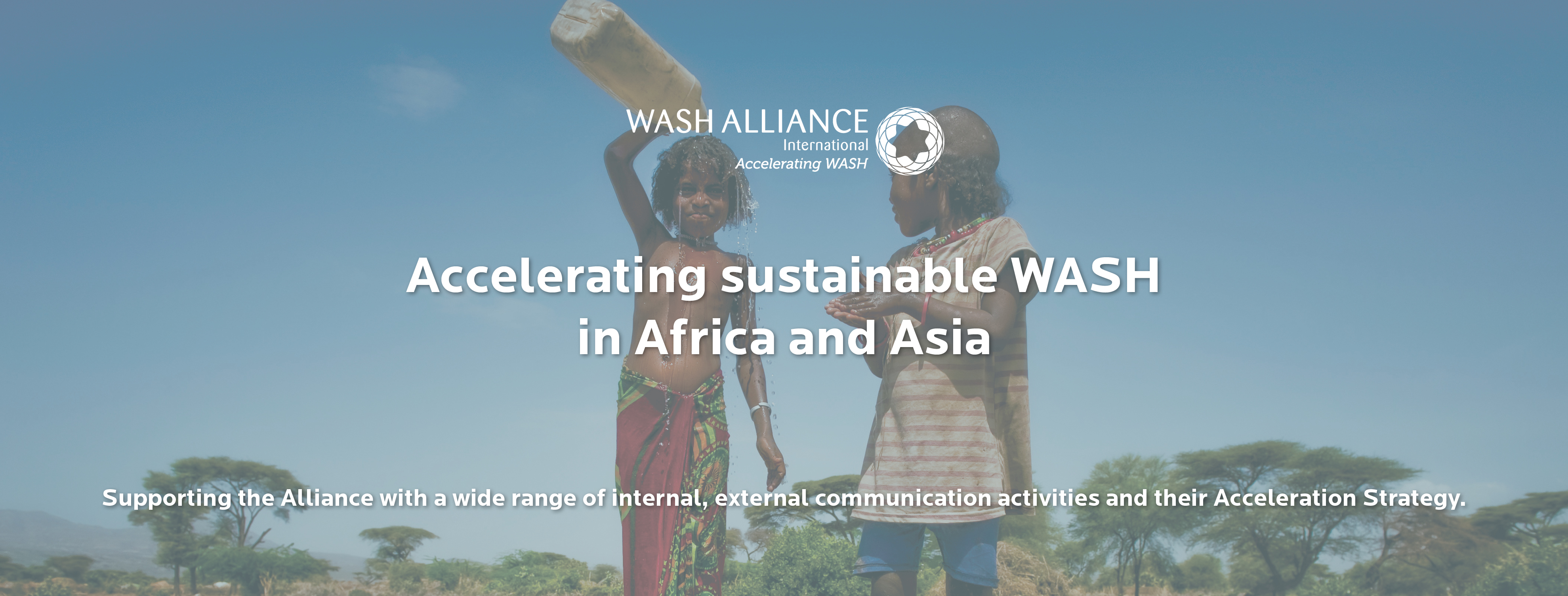 Communication activities and accelerating sustainable WASH services