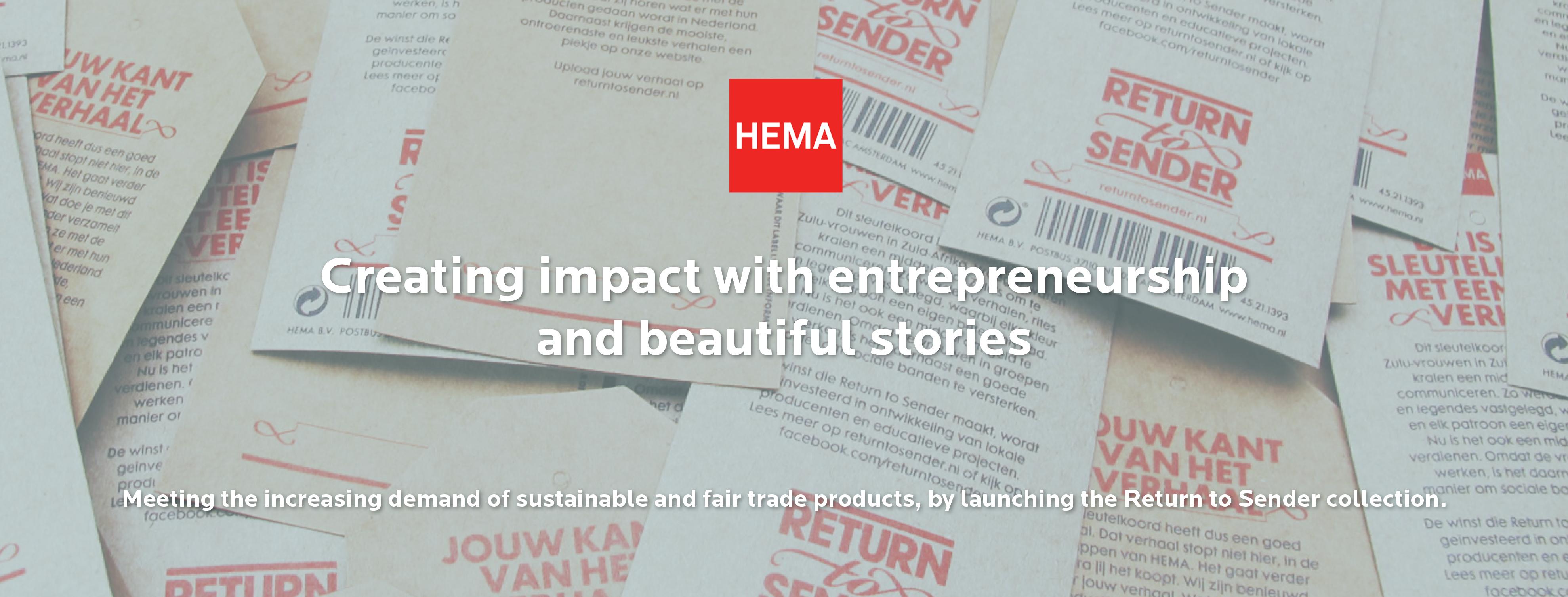 Creating sustainable impact at Hema