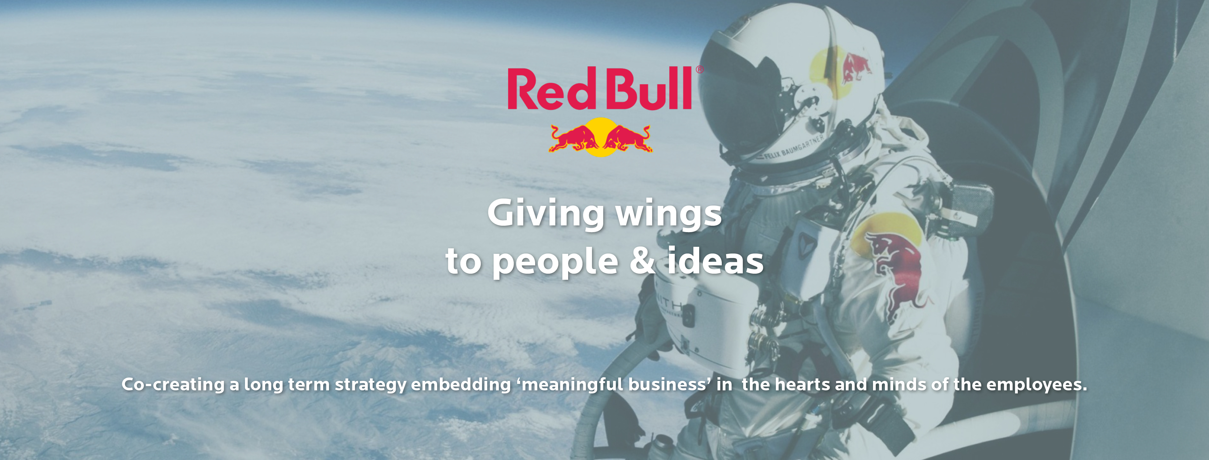 Meaningful business and strategy development at Red Bull
