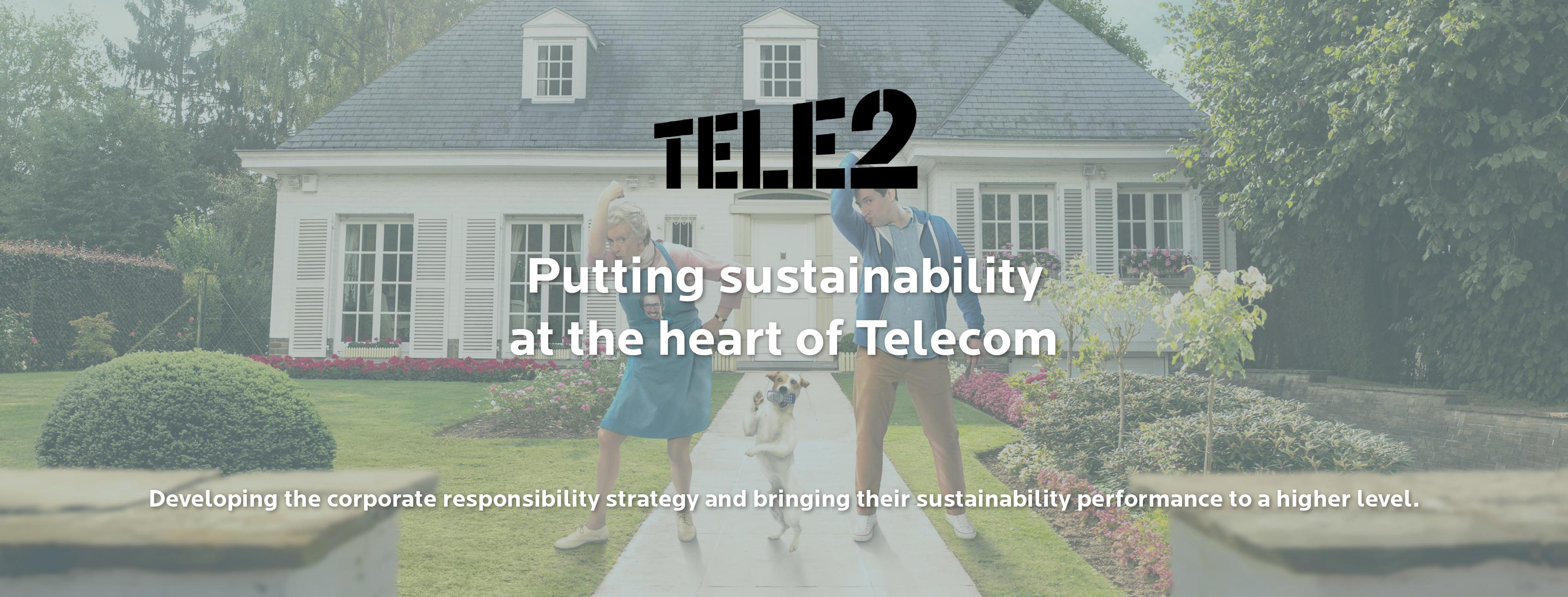 Sustainability at Tele2